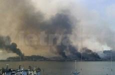 DPRK fires artillery into waters of Korean peninsula