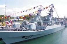 Chinese Navy ship visits Da Nang