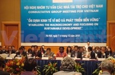 Donors pledge to maintain Vietnam links