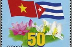 Cuba issues stamps to honour ties with Vietnam