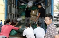 More donations for central flood victims