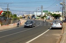 Vietnamese-funded road opens to traffic in Cambodia