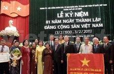 HCM City marks Party's founding day