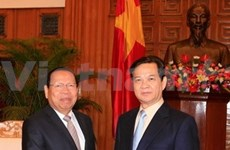 Vietnam eager to strengthen ties with Cambodia