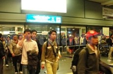 First Vietnamese workers safely return home from Libya