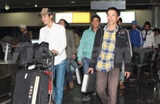More Vietnamese workers leave Libya safely
