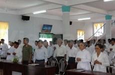 Cao Dai sect holds congress in Ca Mau