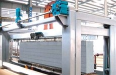 AAC brick line set for production in Long An