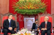Vietnam, Ukraine look toward stronger ties