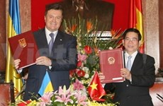 Vietnam, Ukraine issue joint statement