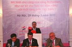 VN needs Dutch port, coastal experience