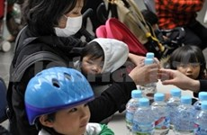 Radiation in Japanese tap water drops to safe level