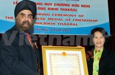 Thakral Group's CEO awarded friendship medal