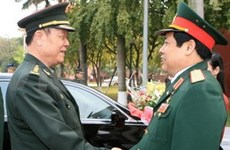 Vietnam, China boost military ties