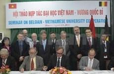 Vietnam, Belgium boost cooperation between universities
