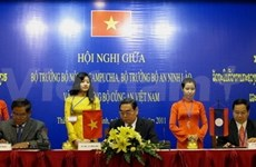VN, Laos, Cambodia boost security cooperation