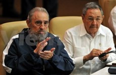 Raul Castro elected Cuban Communist Party leader