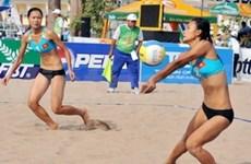 Asian Women's Beach Volleyball Champs opens