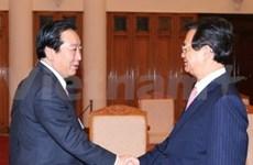 Vietnam pledges further ties with Japan, India