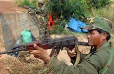 Cambodia rejects troop withdrawal demand