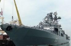 Russian warships visit Da Nang