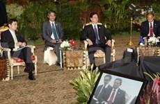 Leaders talk measures to boost ASEAN's foreign ties