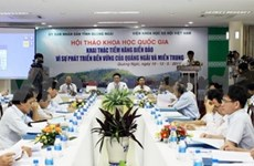 Seminar on central region's sea, island potential