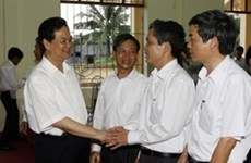 NA candidates meet voters in Hai Phong