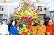 Lord Buddha's birthday celebrated