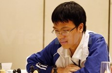 Quang Liem becomes super int'l grand master