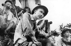 Ho Chi Minh's journey for national salvation marked