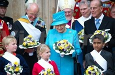 Get-together marks UK Queen's birthday