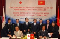 Japan helps with Vietnam's infrastructure works