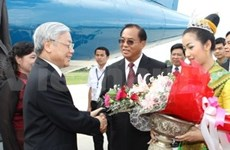 Message to thank Lao Party General Secretary