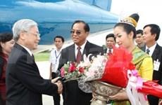 Party leader visits Laos' Savannakhet province
