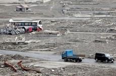 Strong earthquake strikes Japan