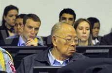 Cambodian court opens Khmer Rouge trial