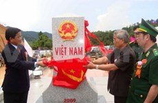 Son La plants more markers on Vietnam-Laos border