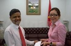 Vietnamese in Malaysia help AO victims