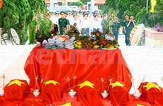 Dong Thap reviews repatriation of fallen soldiers' remains