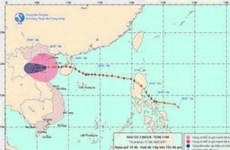 Tropical storm Nock-ten hit northern central Vietnam