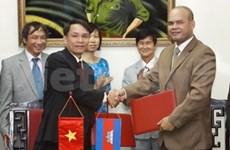 VN, Cambodian news agencies strengthen ties