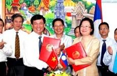 Vietnam, Laos target 2 billion USD trade