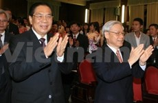 Lao Party leader upholds Laos-VN relationship