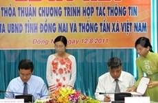 VNA, Dong Nai sign information cooperation deal