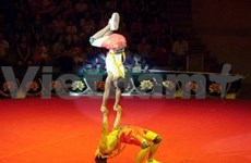 Vietnamese circus artists shine in Cuba