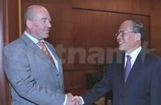 NA Chairman meets German, Irish diplomats
