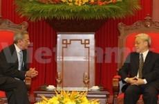 Party leader meets Cuban special envoy