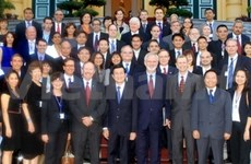 State President welcomes US businesspeople