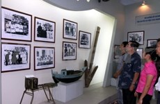 Exhibition spotlights sea, islands, navy